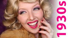 Travel back in time to the 1930s with this Historically Accurate makeup tutorial, based on the trends of the time period! Want to see more videos in this ser...