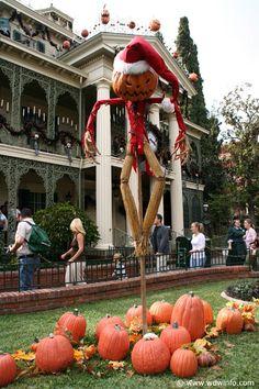 Disneyland at Christmas: Haunted Mansion, Nightmare Before Christmas