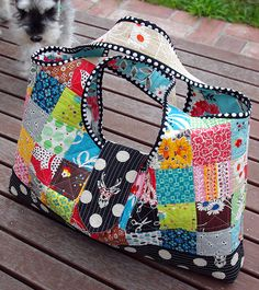 Red Pepper Quilts: Quilts As You Go - Patchwork Bags!