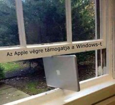 Windows supported by Apple ? :-) Smile and be smart ... http://www.sm-artstudio.com #apple #windows #os