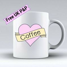 Hey, I found this really awesome Etsy listing at https://www.etsy.com/uk/listing/542516480/coffee-heart-mug-coffee-cup-pink-heart