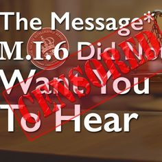 The Message That M.I. 6 Did Not Want You To Hear by Dr. Andrew Corbett on SoundCloud
