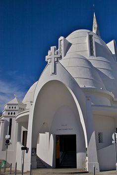 Eglise Sainte Jeanne D'Arc. Cimiez. Provence-Alpes-CÔte d'Azur