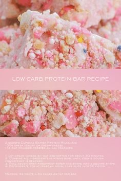 Go wild on this this easy 3 ingredient keto approved low carb protein recipe. Low Carb Protein Bars, Protein Bar Recipes, Protein Foods, Milkshake Cupcakes, Protein Milkshake, Organic Protein Powder, Whey Protein Powder, Popular Food, Popular Recipes