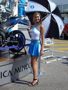 Konica Minolta Paddock Girls. GP Catalunya 2007