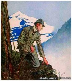 Frederic Dorr Steele illustrator - Sherlock Holmes