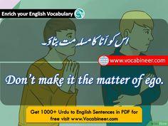 English Speaking Practice, Learn English Grammar, English Idioms, English Language Learning, English Phrases, Learn English Words, English Writing, English Vocabulary, Simple English Sentences