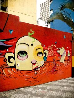 Street art | Mural (São Paulo, Brazil) by Nick Alive, Shock Maravilha, and Nem