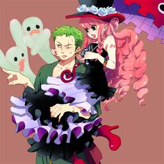 Zoro Perona my fav couple!! :D