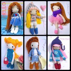 All my designed dolls as at 15 Nov 2014