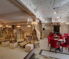 "literary restaurants - Onegin, NYC (based on Pushkin's ""Ugene Onegin"")"