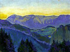 bofransson:  Semmering Landscape Koloman Moser