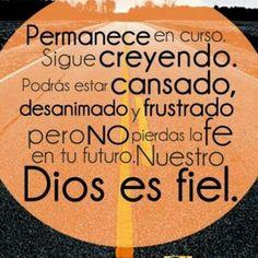 Dios es fiel..
