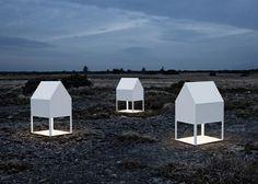Light house lamp designer Tomas Sandell