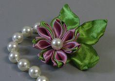 Flor com Petalas com duas cores Passo a Passo