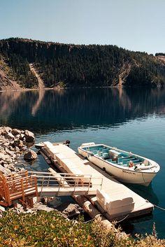 living on a lake