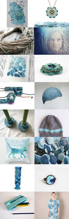 One touch of blue by 3buu on Etsy--Pinned+with+TreasuryPin.com