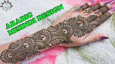 Mehandi Designs Easy, Simple Arabic Mehndi Designs, Full Hand Mehndi Designs, Mehndi Simple, Wedding Mehndi Designs, Simple Henna Tattoo, Mehndi Tattoo, Mehndi Desing, Mehendhi Designs
