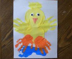 Springtime Splashin' Ducky. Great Easter craft too.