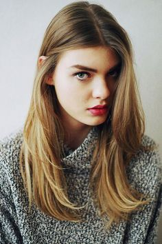 light brown hair - Blunt cut ends give fine hair the illusion of fullness.  Read more: http://www.dailymakeover.com/trends/hair/fall-haircuts-2014/#ixzz3E0j81fsx