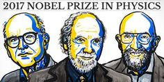Three US scientists Rainer Weiss, Barry Barish and Kip Thorne won the 2017 Nobel Prize for Physics for their pioneering role in the detection of gravitational waves. Nobel Prize In Physics, Nobel Peace Prize, Einstein, Gravity Waves, Brian Greene, Gravitational Waves, Nobel Prize Winners, Theory Of Relativity, Olinda