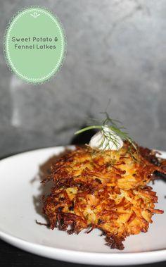 Sweet Potato & Fennel Latkes