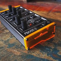 PBMIX-3 by Patchblock- The masterminds at Patchblock beat the big guys to the punch and built a 1/8 inch jack, battery operated mixer, designed for portable mini synths. Let the summer park jams commence.  £129