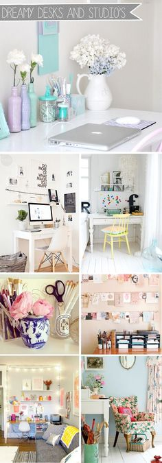 Alice Perry Designs: Interiors / Dreamy Desks...