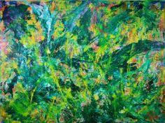 "Saatchi Art Artist Nestor Toro; Painting, ""In the wilderness-childhood Dreams"" #art"