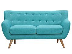 Bilderesultat for turkis sofa Vintage Sofa, Furniture Deals, Sofa Furniture, Retro Furniture, Furniture Outlet, Discount Furniture, Sofa Cama 1 Plaza, Sofa Design, Scandinavian Sofas
