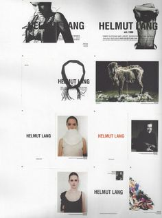 Inside the visible, pylore: Helmut Lang ads, Font Design, Web Design, Graphic Design, Helmut Lang, Anti Fashion, High Fashion, Campaign Fashion, Fashion Advertising, Tumblr