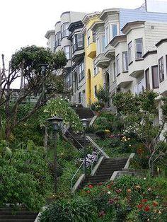 San Francisco: Vallejo Street Steps: