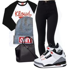 Cool Outfits With Jordans Dope Outfits, created by fashionkillabish on Polyvore... Check more at 24shopping.ga/...