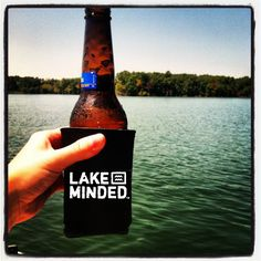 www.belakeminded.com   #lake #beer #weekend