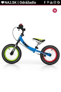 Detské odrážadlo kolo Milly Mally Young multicolor Tricycle
