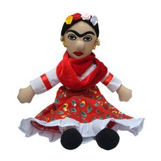 Frida Kahlo Little Thinker, $17.95, now featured on Fab. LOVE Frida Kahlo! She can be my MUSE!