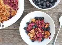 This crumble may be my go-to dish for breakfast, lunch and dinner all winter. It's just so delicious and so wonderfully quick and easy to make, plus the leftovers seem to get more and more amazing as each hour goes by!I've always been a huge crumble fan, even when I didn't like fruit or …