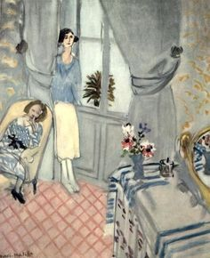 Henri Matisse - Le Boudoir, 1921 (Oil on canvas. Henri Matisse, Matisse Art, Matisse Paintings, Picasso Paintings, Oil Paintings, Indian Paintings, Abstract Paintings, Landscape Paintings, Post Impressionism