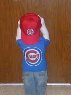 Time out doll Chicago Cubs Fan take me out to the ball game Created by Dillon Golden on Bonanza Cubs Games, Chicago Cubs Fans, Love My Man, Sports Fanatics, Take Me Out, The Ordinary, Bears, David, Dolls