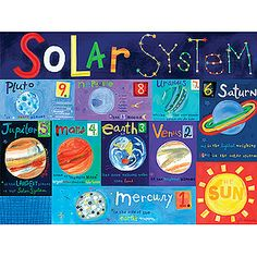 Recursos: El universo I, (Solar system)