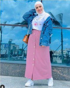 Plus size hijab fashion outfits Plus size hijab fashion outfits – Just Trendy . Plus size hijab fashion outfits Plus size hijab fashion outfits – Just Trendy Girls Love everythi Modern Hijab Fashion, Street Hijab Fashion, Muslim Fashion, Fashion Outfits, Fashion Fashion, Big Size Fashion, Fat Girl Fashion, Outfit Essentials, Casual Hijab Outfit