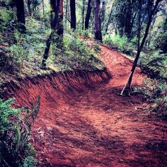 Buxton Flow Trail is coming along nicely - Dirt Art