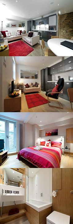 These St Albans serviced apartments are housed within a converted warehouse in a small gated development, a 15 minute walk from St Albans railway station and 11 miles from London Luton Airport. Free on-site parking is available. St Peters Mews Apartments, Centre, St Albans