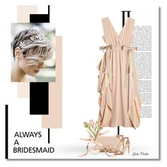"""Always a Bridesmaid ... 2017"" by greta-martin ❤ liked on Polyvore featuring Fendi, Salvatore Ferragamo, La Perla, contestentry, polyvorecontest and alwaysabridesmaid"