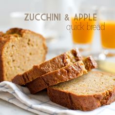 Zucchini Apple Quick Bread -- The sweetness of the apple pairs well with the freshness of the zucchini in this easy-to-make recipe, best served warm with your morning coffee.
