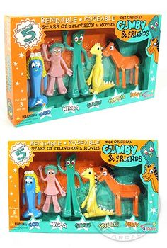 Gumby and Friends Complete Set 1956
