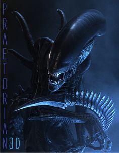 Praetorian3D Alien by Praetorian3D