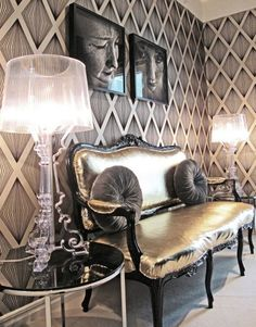 Old Hollywood glamour decor ideas for your home Glam Bedroom, Bedroom Decor, Bedroom Ideas, Closet Bedroom, Cozy Bedroom, Lampe Bourgie, Hollywood Glamour Bedroom, Hollywood Regency, Old Hollywood Decor