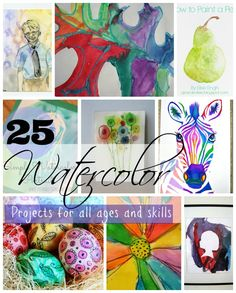 25 creative watercolor projects for all skill levels