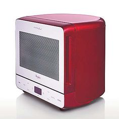Whirlpool Max38 Red Microwave